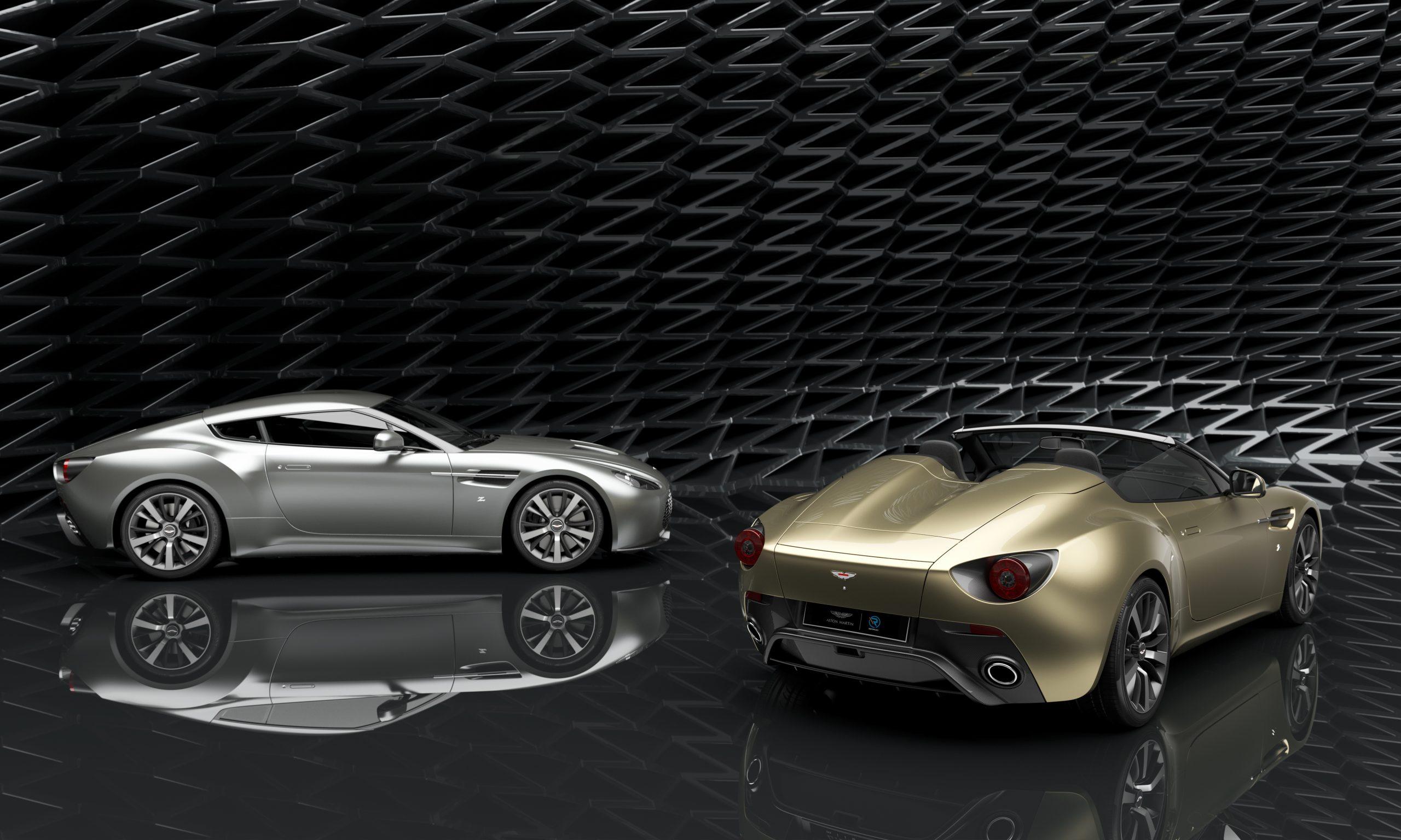 أستون مارتن تؤكد مواصفات سيارات فانتج في 12 زاغاتو المزدوجة وإنتاجها في المملكة المتحدة من قبل آر-ريفورجد