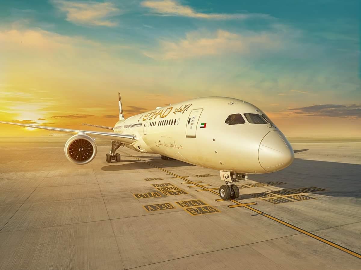 الاتحاد للطيران تؤجل خطط تشغيل رحلاتها الى ١٦ مايو
