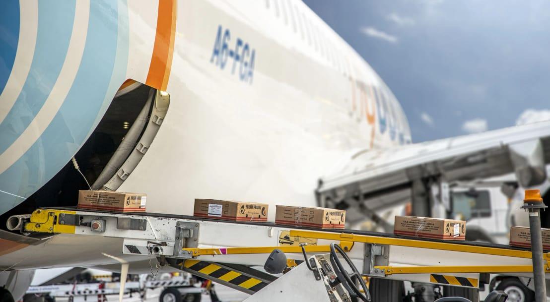 فلاي دبي مستمرة في تعزيز عمليات الشحن ورحلات الاعادة للوطن
