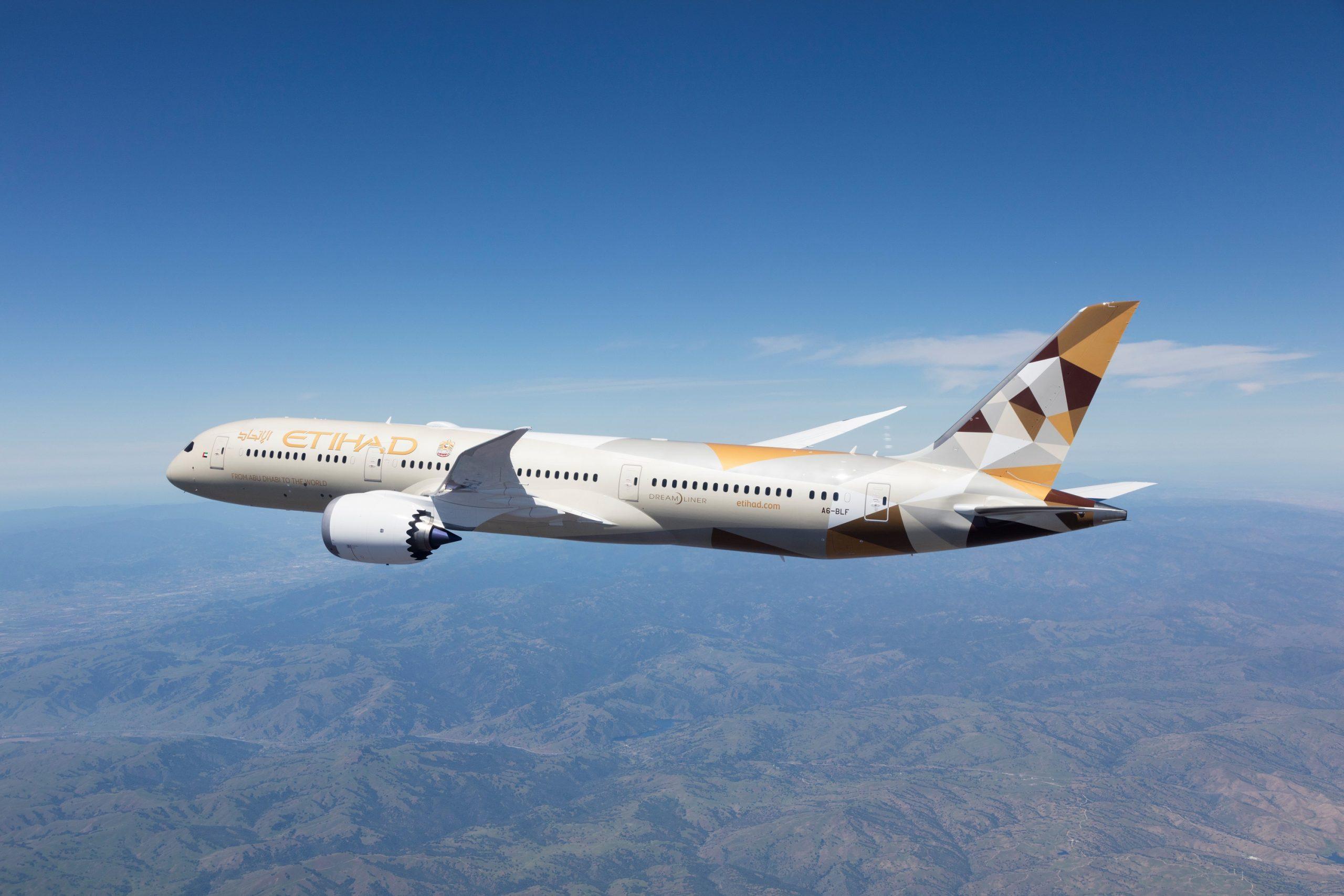 الاتحاد للطيران تعزّز الرحلات الخاصة على شبكة وجهاتها العالمية