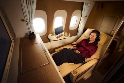 """طيران الإمارات """"أفضل درجة أولى"""" للسنة الرابعة على التوالي"""