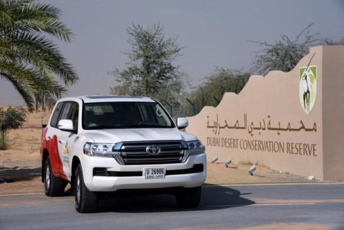 محمية دبي الصحراوية تطلق تقريرها السنوي الأول
