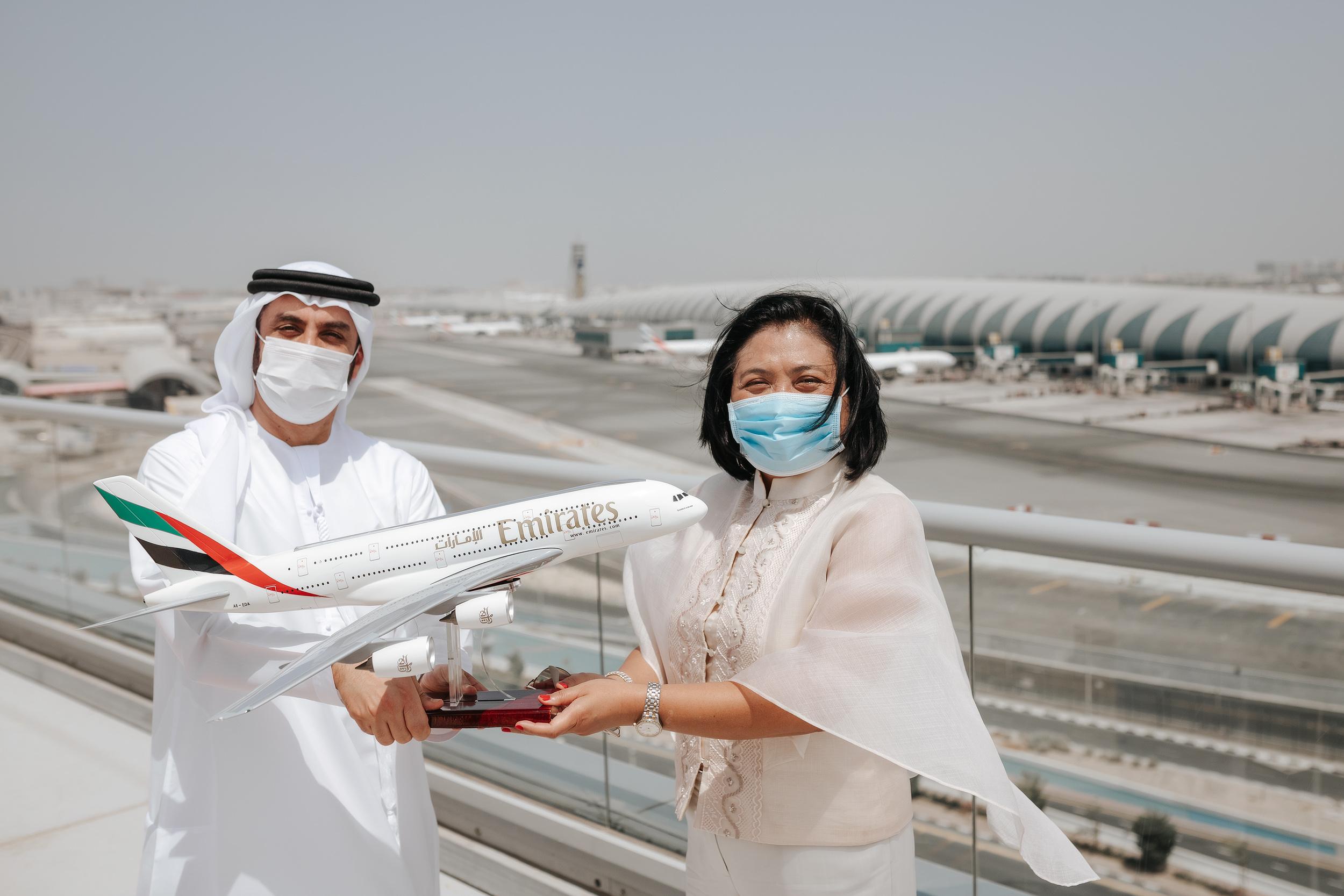 الفلبين تشكر طيران الإمارات على إجلاء مواطنيها خلال الجائحة