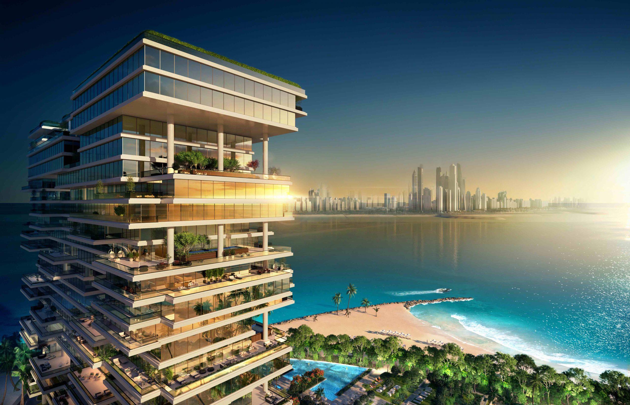 """دبي تستقبل 2021 بافتتاح """" وان بالم"""" نخلة جميرا"""