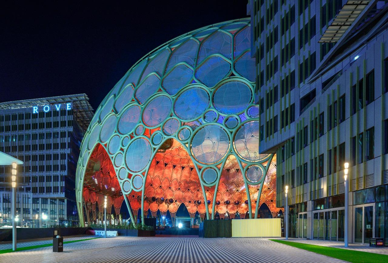 روڤ إكسبو2020يفتح أبوابه1أكتوبر 2021 بجوار ساحة الوصل في قلب موقع الحدث العالمي