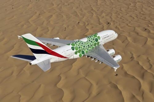 طيران الإمارات تشغل طائرة A380 وتعزز خدماتها على خط عمّان