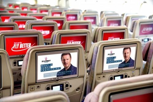 طيران الإمارات تساهم في تسليط الضوء على قضية الاتجار بالبشر