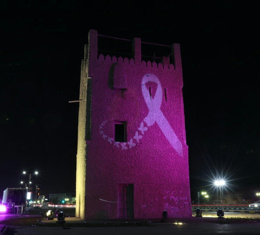 """دائرة التنمية السياحيةفي عجمان تطلقمبادرة """"عبّر عن تضامنك"""" للتوعية بـمرض سرطان الثدي"""