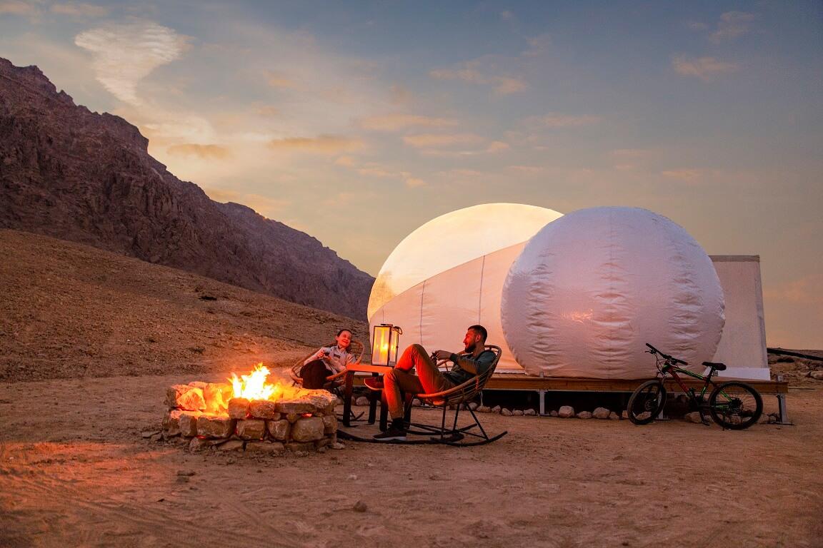 دائرة الثقافة والسياحة – أبوظبي تفتتح الموسم الجديد لمنتزه جبل حفيت الصحراوي