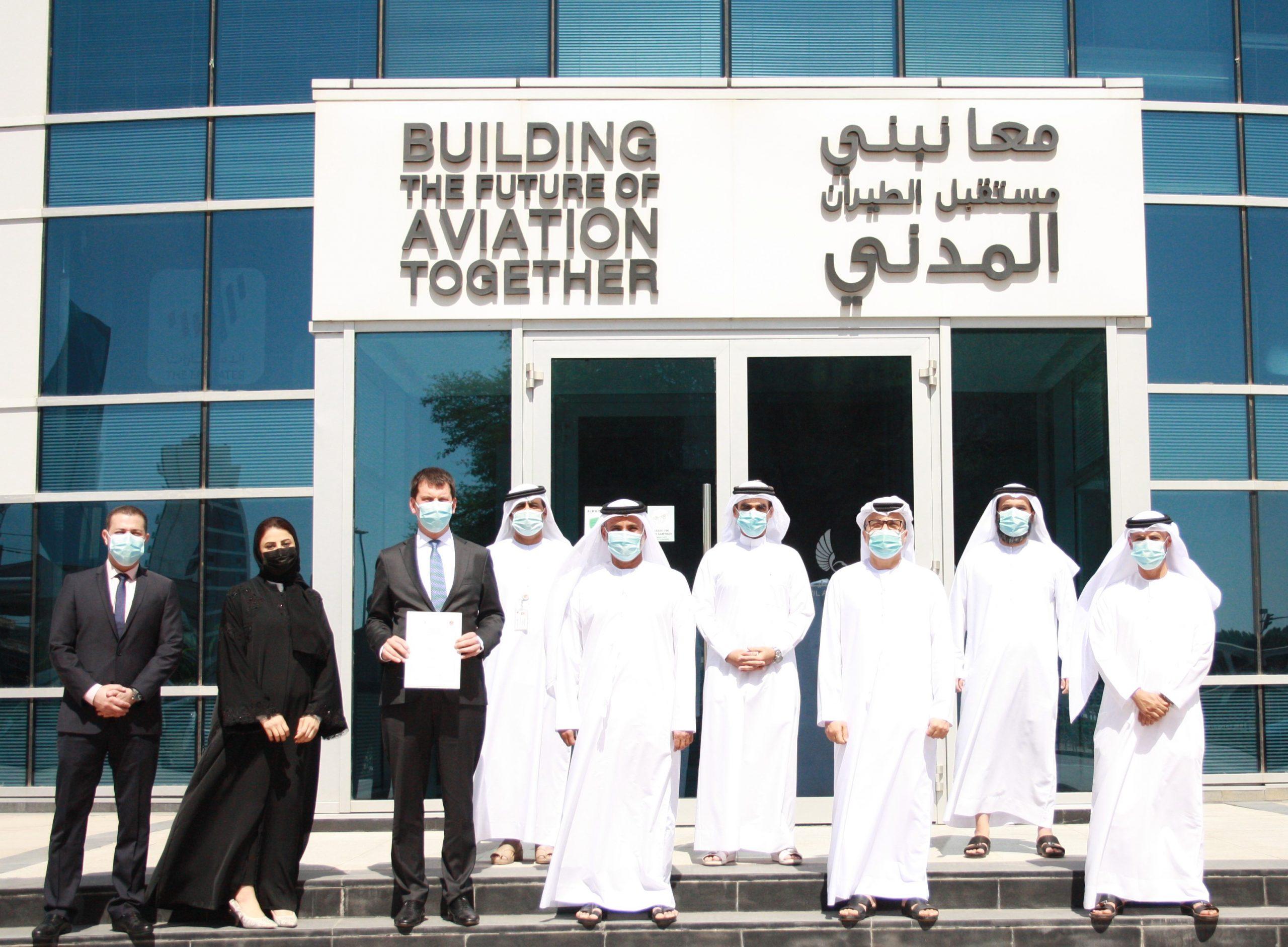 """""""ويز إير أبو ظبي"""" للطيران الاقتصادي تحصل على شهادة المشغل الجوي"""