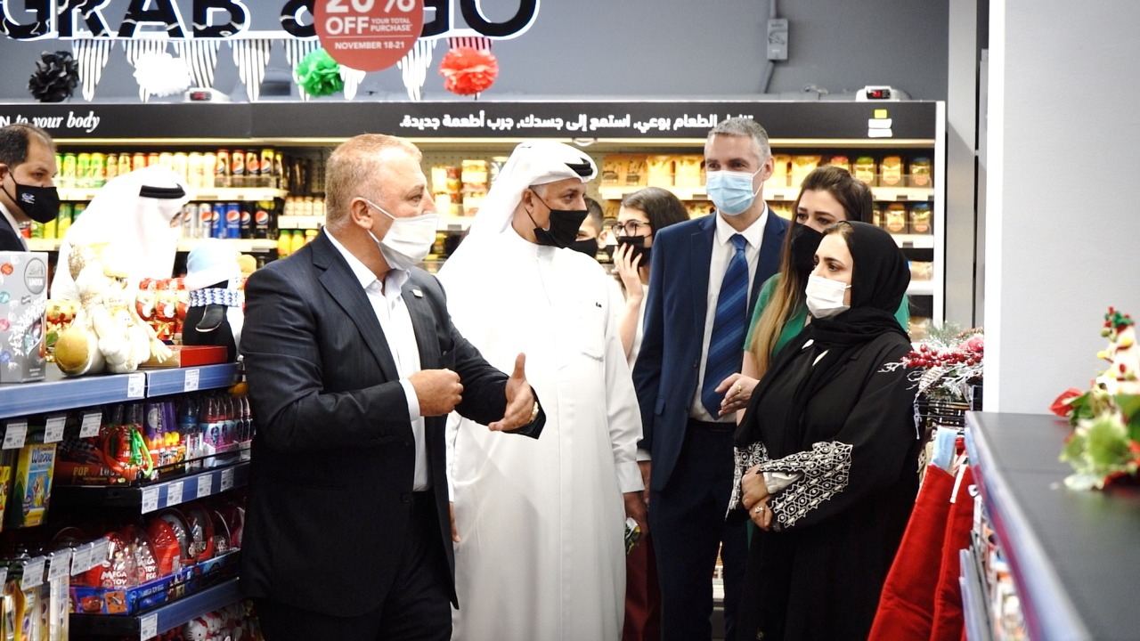 """متاجر التسوق """"جرانديوس"""" تخصص أجنحة لمنتجات المزارع والشركات الإماراتية"""