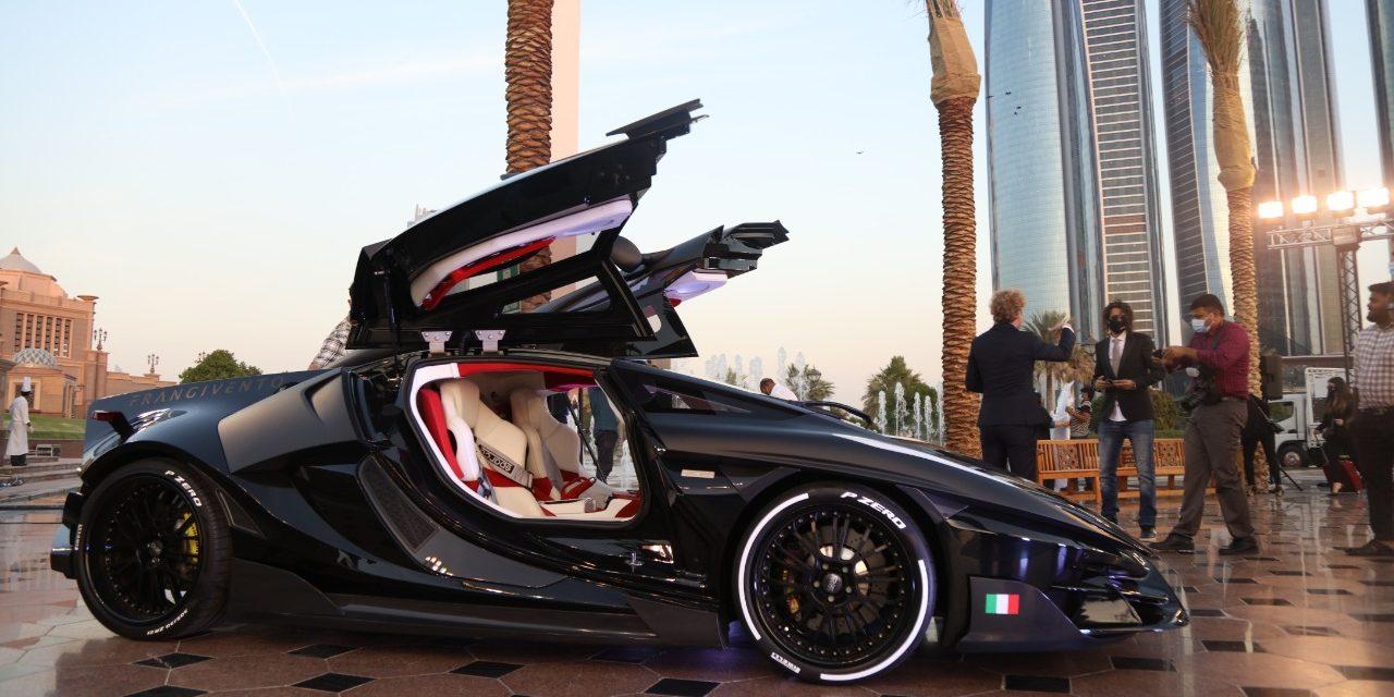 صانع إيطالي للسيارات الرياضية الفاخرة يكشف عن تحفة هندسية أيقونية في أبوظبي