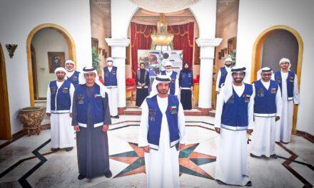 """د. مبارك حمد العامري يكرّم المشرفين الميدانيين في فريق """" لا تشلون هم"""" التطوعي"""