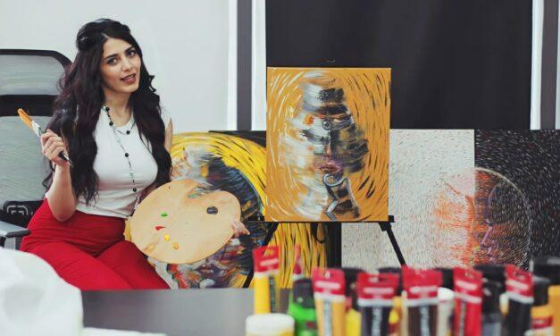 الفنانة جناريتا العرموطي رئيسا فرع المنظمة الدولية للفنون في الاردن