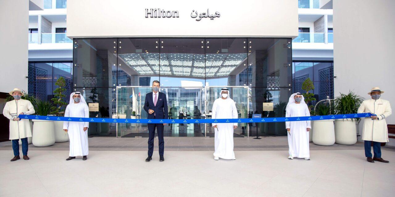 افتتاح فندق هيلتون ابوظبي جزيرة ياس بسعة 545 غرفة وجناح فندقي