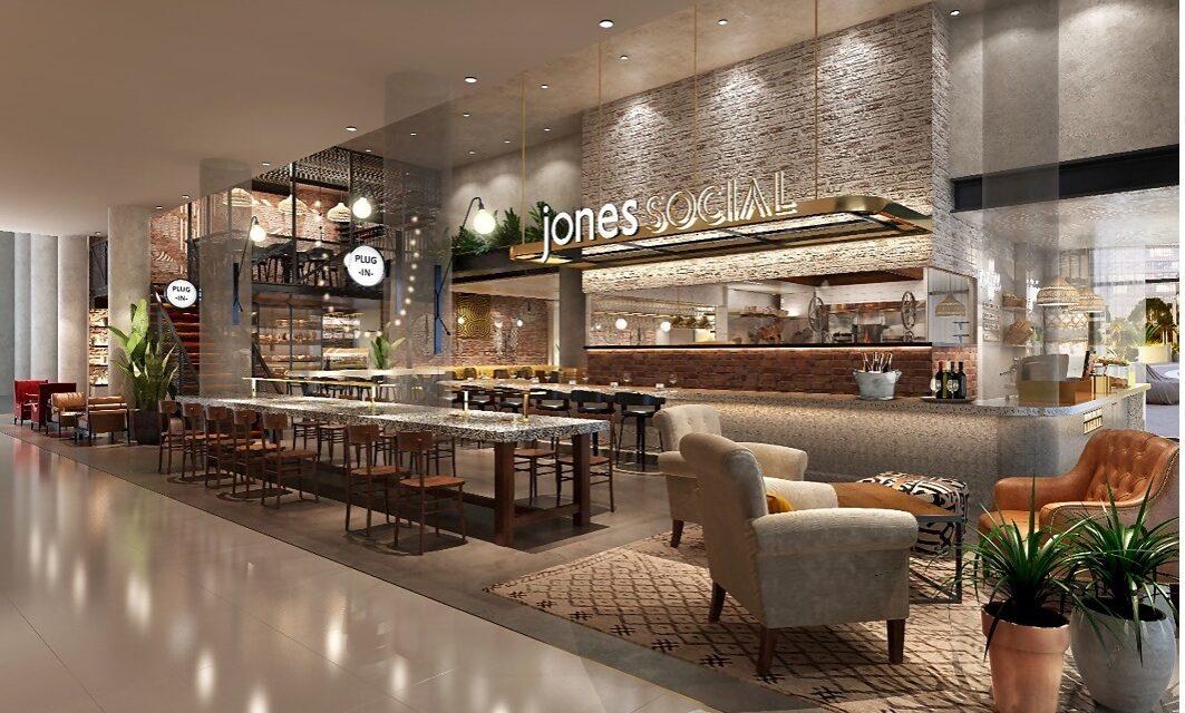 جونز ذا كروسر يعلن افتتاح جونز سوشال