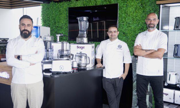 """مجموعة من أشهر الطهاة يحضرون إفطاراً شهياً باستخدام أجهزة """"سيج"""" Sage العالمية"""