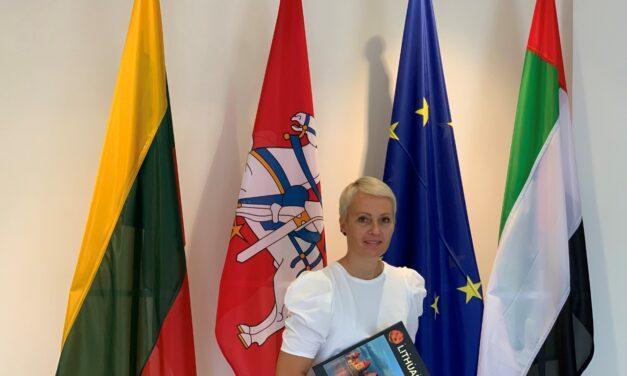 ليتوانيا تشارك في إكسبو 2020 بدبي لتعزيز نموها المتواصل في مجالات التجارة والاقتصاد والسياحة