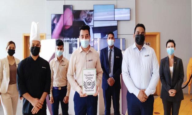 استوديو أم أرابيان بلازا يفوز بجائزة خيار المسافرين 2021 من تريب أدفايزر