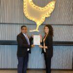 ملك الطاووق الإمارات يحصل على شهادة HACCP لسلامة الغذاء