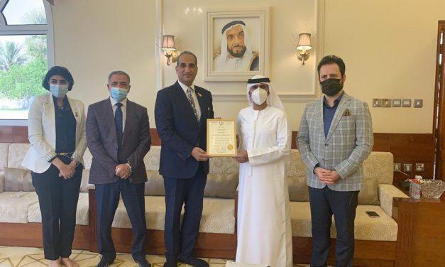 اتحاد المبدعين العرب يمنح سالم بن سلطان القاسمي العضوية الفخرية