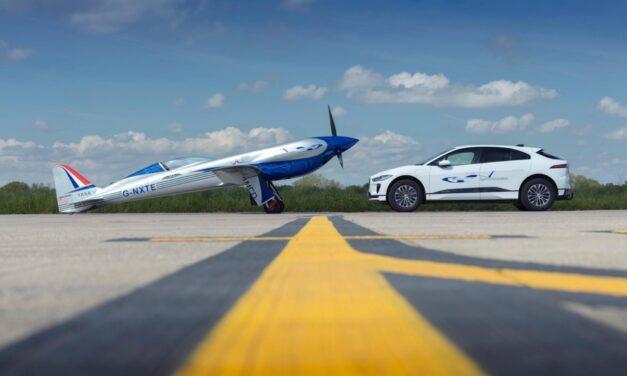 رولز رويس ترحب بالدعم الأرضي الكهربائي بالكامل من جاكوار لاند روفر لمحاولة تحطيم الرقم القياسي العالمي لسرعة الطيران الكهربائي
