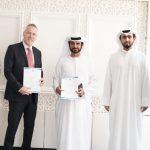 """توقيع إتفاقية شراكة استراتيجية بين """"جي 20″ الإماراتية و """" فارم إكس جين"""" الأمريكية"""